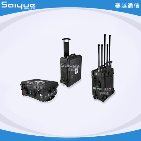 SYT-401M-TX 拖箱式手机信号屏蔽器