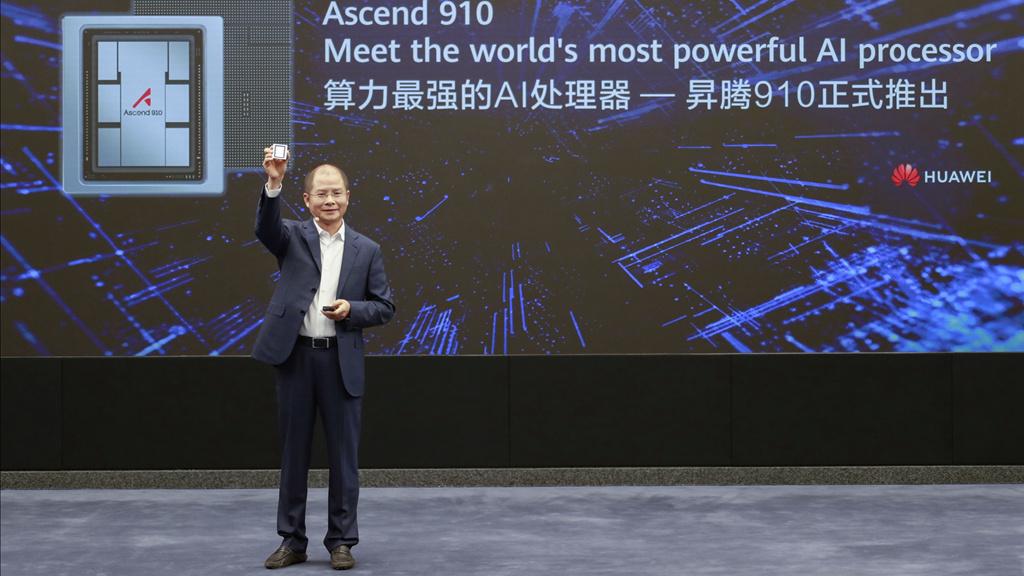 华为再放大招:发布最强AI处理器昇腾910-手机信号扩大器